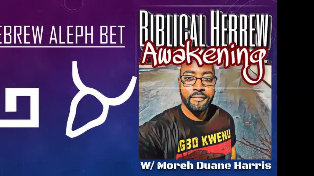 Understanding Biblical Hebrew w/ Moreh Duane: Part 2