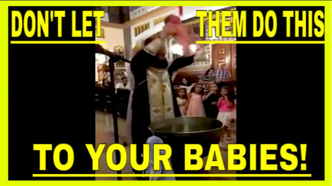 BAPTISM FROM HELL! This Mother tries to SAVE her Baby from this CATHOLIC PRIEST